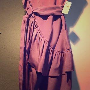 Ali-Ro 100% silk mini dress NWT.